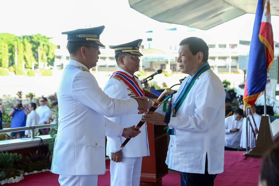 Lieutenant General Carlito G. Galvez, Jr. at the AFP Change of Command Ceremony