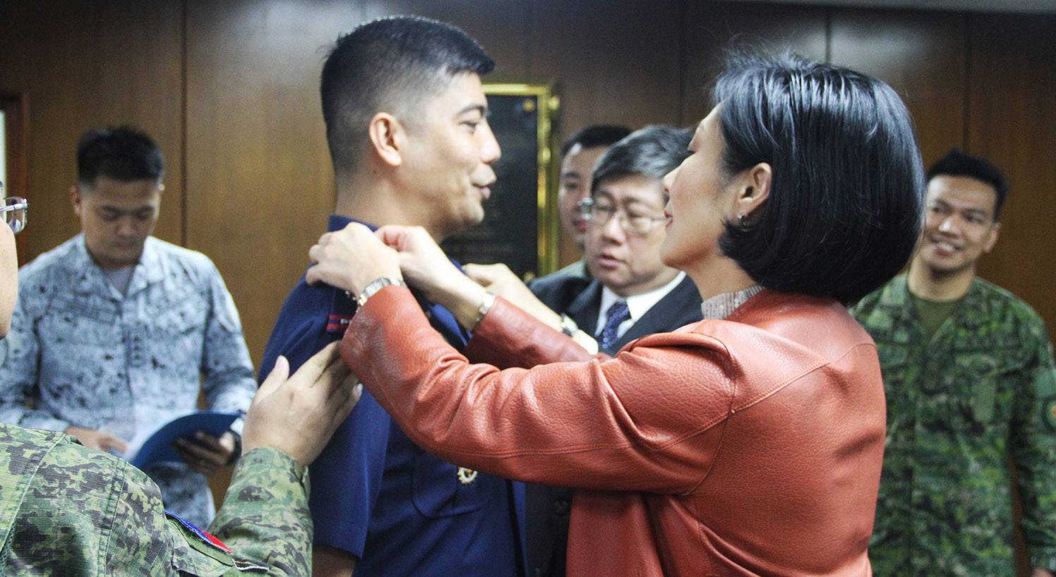 AIM MDM STUDENTS PROMOTED TO AFP AND PNP RANKS