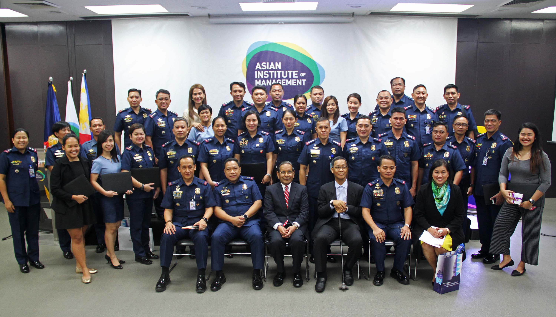 PNP officers complete Results-based Management program at AIM