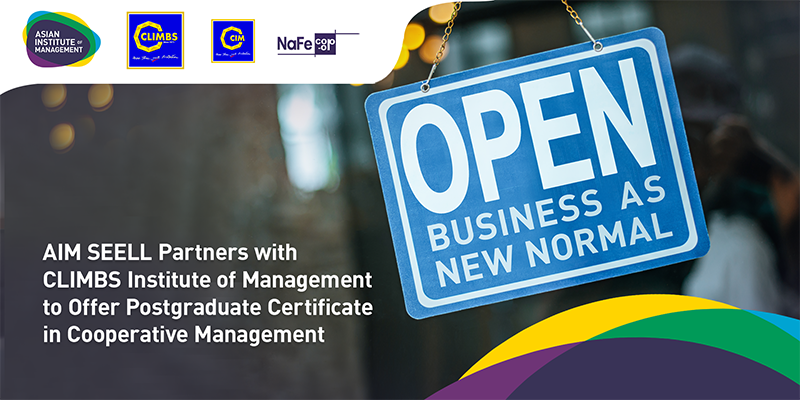 CLIMBS offers in-house Post Graduate Certificate in Cooperative Management