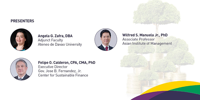 Financing and Valuation of Ecosystem-Based Adaptation in the Philippines Presenters