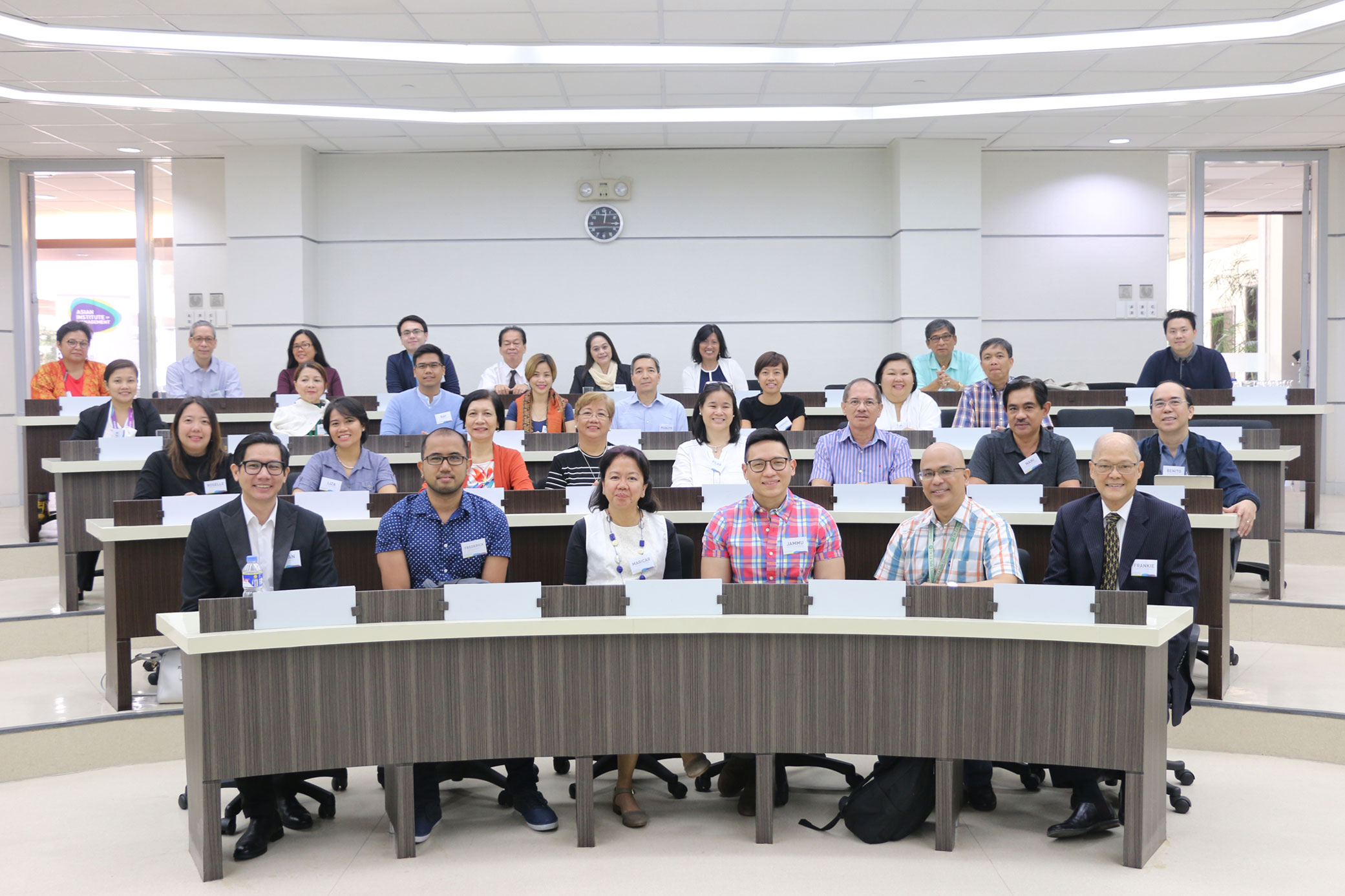 AIM hosts joint research workshop with DLSU, and ADMU