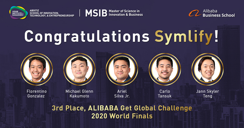 3rd Place, ALIBABA Get Global Challenge 2020 World Finals