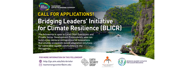Bridging Leaders Initiative for Climate Resilience