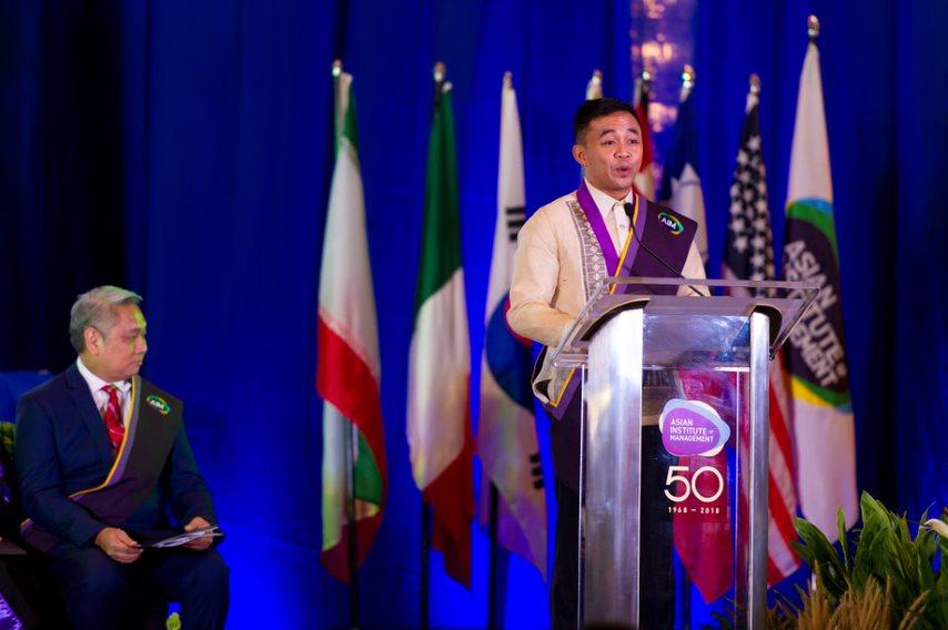 Ben Ibarra Fernandez (MBA 2018), AIM Outstanding Student Leader Awardee