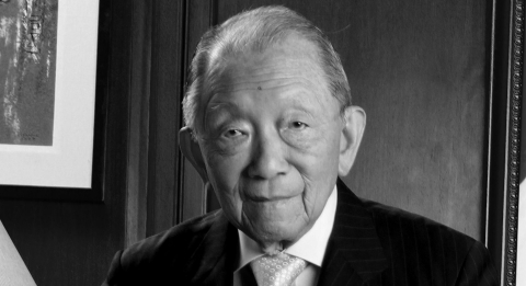 The Asian Institute of Management (AIM) mourns the loss of its founding chairman and Chairman Emeritus, Mr. Washington SyCip who joined His Creator on October 8, 2017.