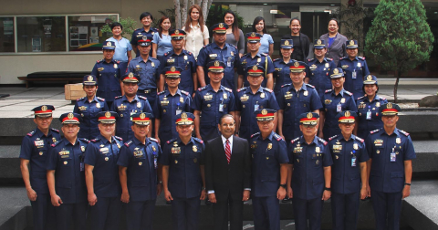 PNP officers complete Results-based Management program at AIM