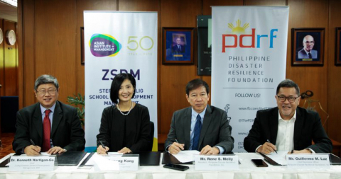 AIM Inks Partnership with PDRF to Champion Disaster Resilience Education